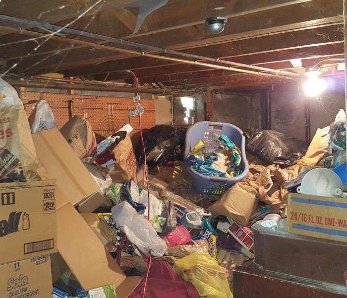 Hoarding Clean-up in Windsor, CT Before