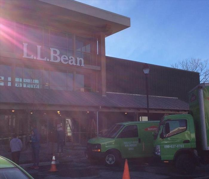 Commerical Water Loss at LL Bean