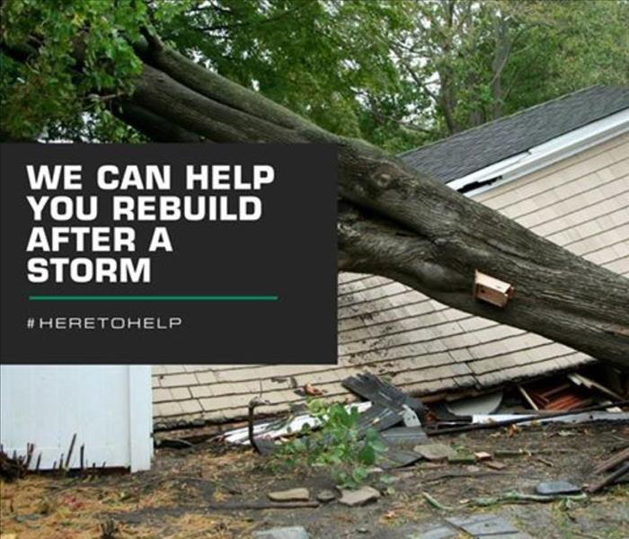 Storm Damage When Storms or Floods hit CT, SERVPRO is ready!